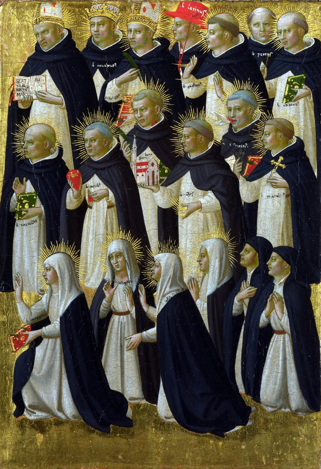 Dominican Saints by Fra. Angelico