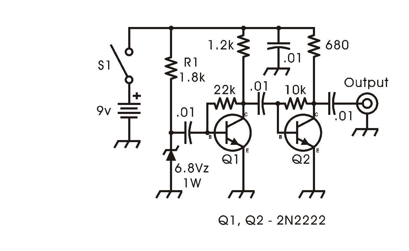 Circuito Zener : Notas técnicas de lu1ar