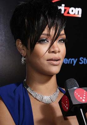 Rihanna Diamond Choker Necklace