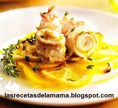 Las recetas de la mam receta de rollitos de lenguado al - Superchef cf100 ...