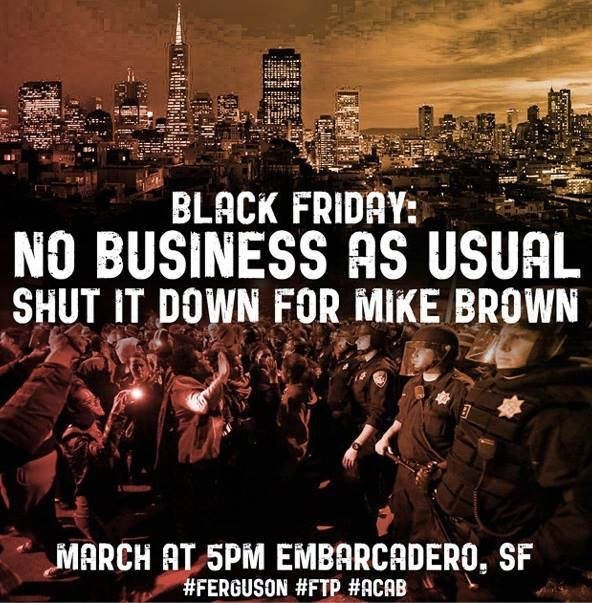 BLACK FRIDAY: Shut it Down for Mike Brown