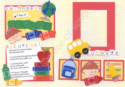 School Scrapbook Ideas Using Moxxie