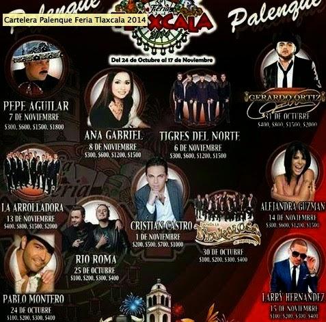 Programa palenque tlaxcala 2014