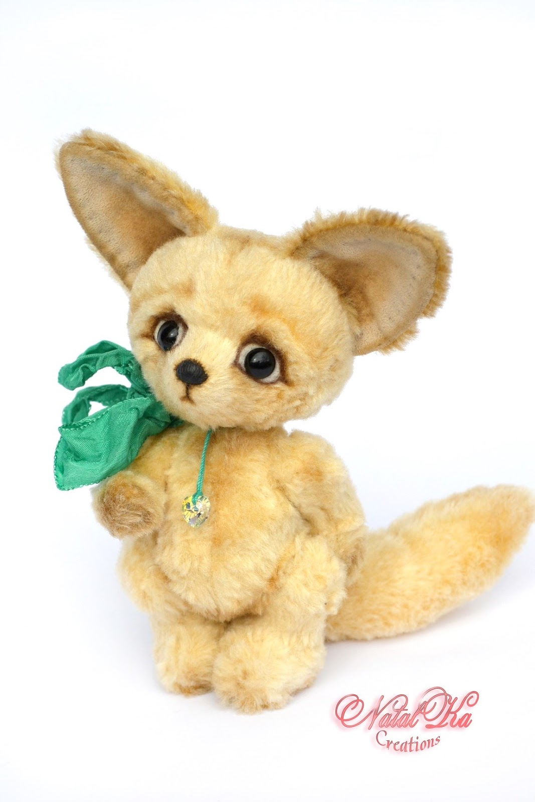 Artist teddy fox fennec, fox jointed, artist fox, artist teddies, teddy ooak, Künstlerteddy, Künstler Fuchs, Fennek, авторский лисенок фенек, лисенок тедди, handmade by NatalKa Creations
