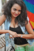 New Actress Jhansi Hot Stills in Shorts-thumbnail-20