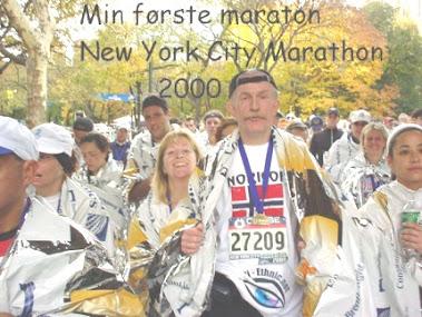 Min første maraton
