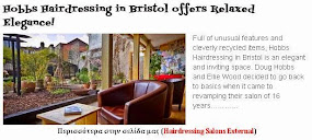 Hobbs Hairdressing in Bristol offers Relaxed Elegance!