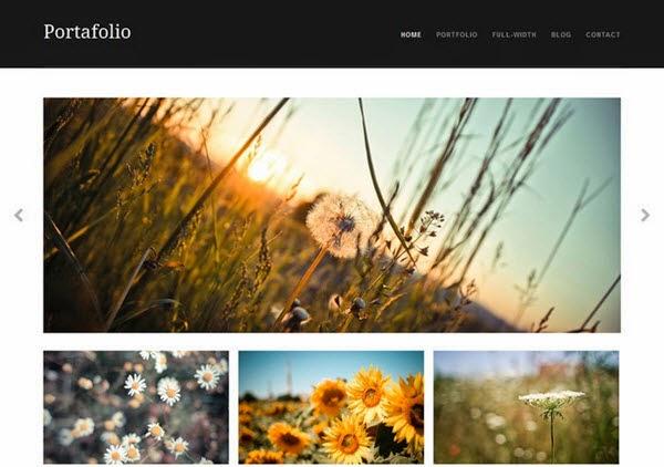Portafolio Free Portfolio WordPress Theme
