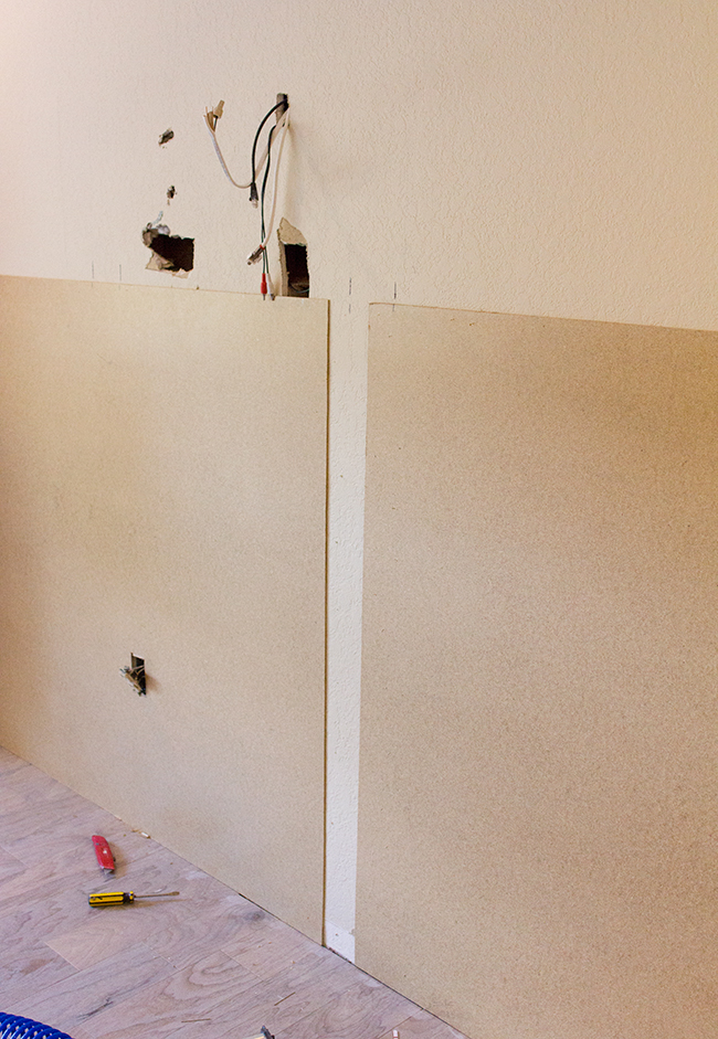 how to the paneled wall decorchick! - 650×941