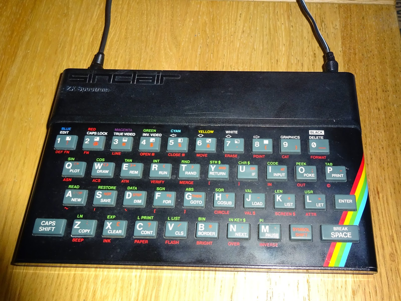 Tynemouth Software Zx81 And Zx Spectrum Keyboard Membrane Repair The Basic Digital Computing Circuitry Used In Sinclair