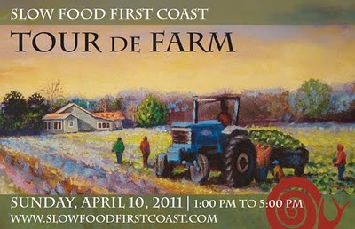 Sunday Event: TOUR DE FARM 1 tourDeFarm St. Francis Inn St. Augustine Bed and Breakfast