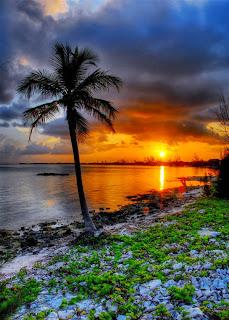 Di Kala Matahari Terbenam...