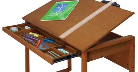 New And Notables At Jerryu0027s: Ponderosa Wood Drafting Table   HUGE REDUCTION