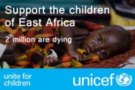 Support the children of East Africa