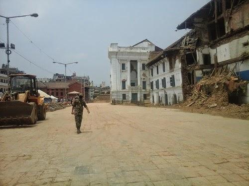 earthquake kathmandu durbar square