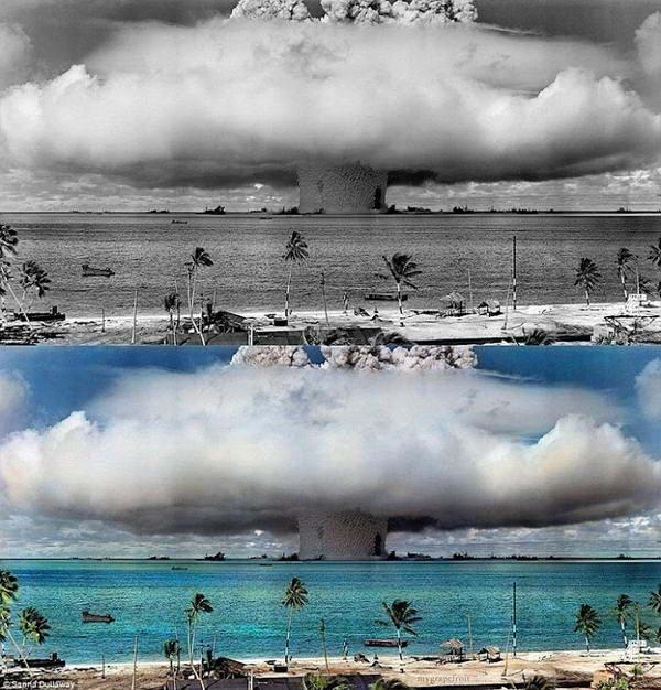 [unik] Hasil Dari Pewarnaan Foto Hitam Putih Klasik Bersejarah [ www.Bacaan.ME ]