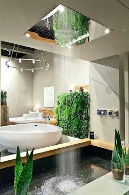 Interiores con encanto, Baños, interiorismo