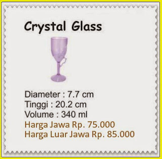 crystal glass tulipware 2013