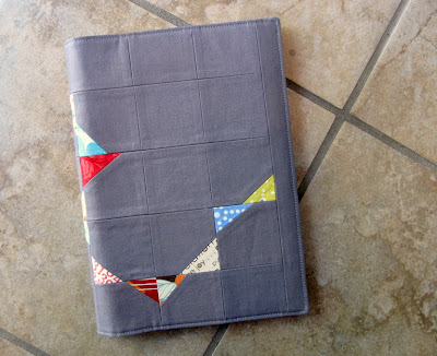 stitch & flip journal cover