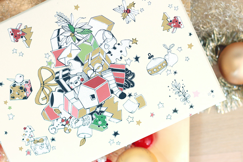 dm Weihnachtsbox - 2015 Natürliche Verwöhnmomente - Verpackung
