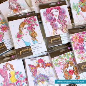 Prima Princesses Stamps