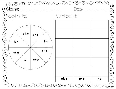 Sight word generator worksheets sight Writing Word  Practice