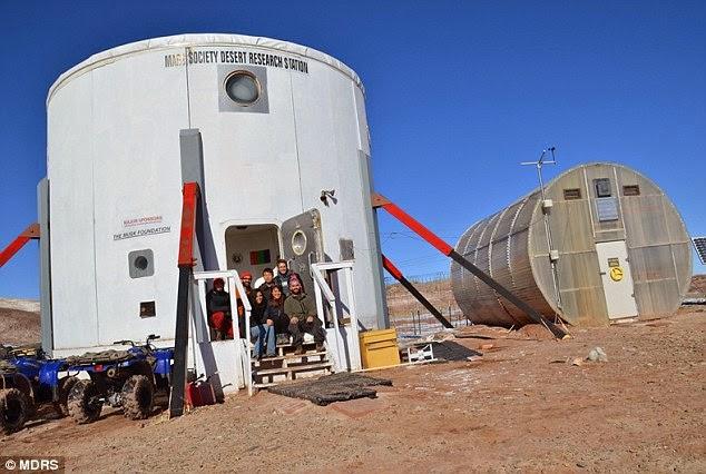 Evil portent for mars mission mars desert research for Portent mission