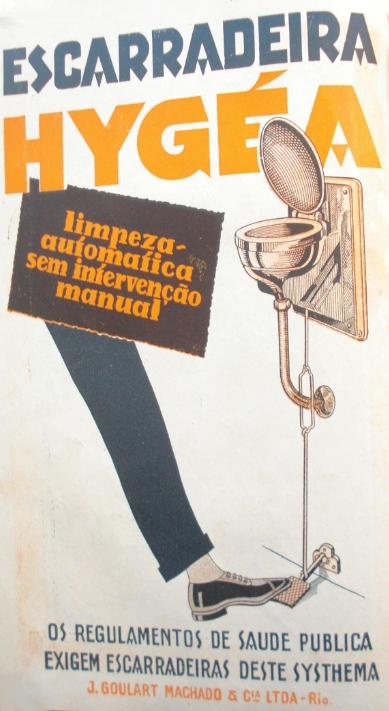 Propaganda da Escarradeira Hygéa, em 1926.