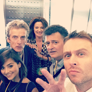 Doctor Who au San Diego Comic Con 2015.  - Selfie