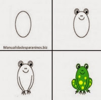 http://manualidadesparaninos.biz/aprende-a-dibujar-una-rana/