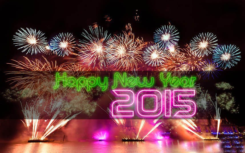 Greeting Happy New Year 2015 Cards – Lovely Wishing Cards