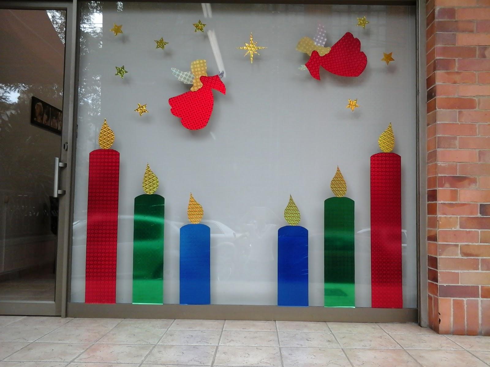Vitrinas decoraciones navide as - Decoracion de vitrinas ...