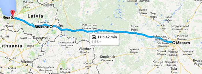 Как лучше ехать до москвы на машине
