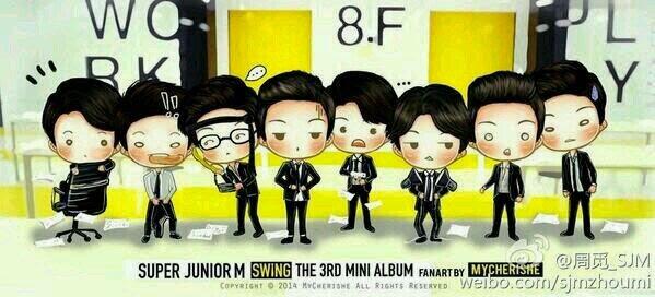 Super Junior M yang be...