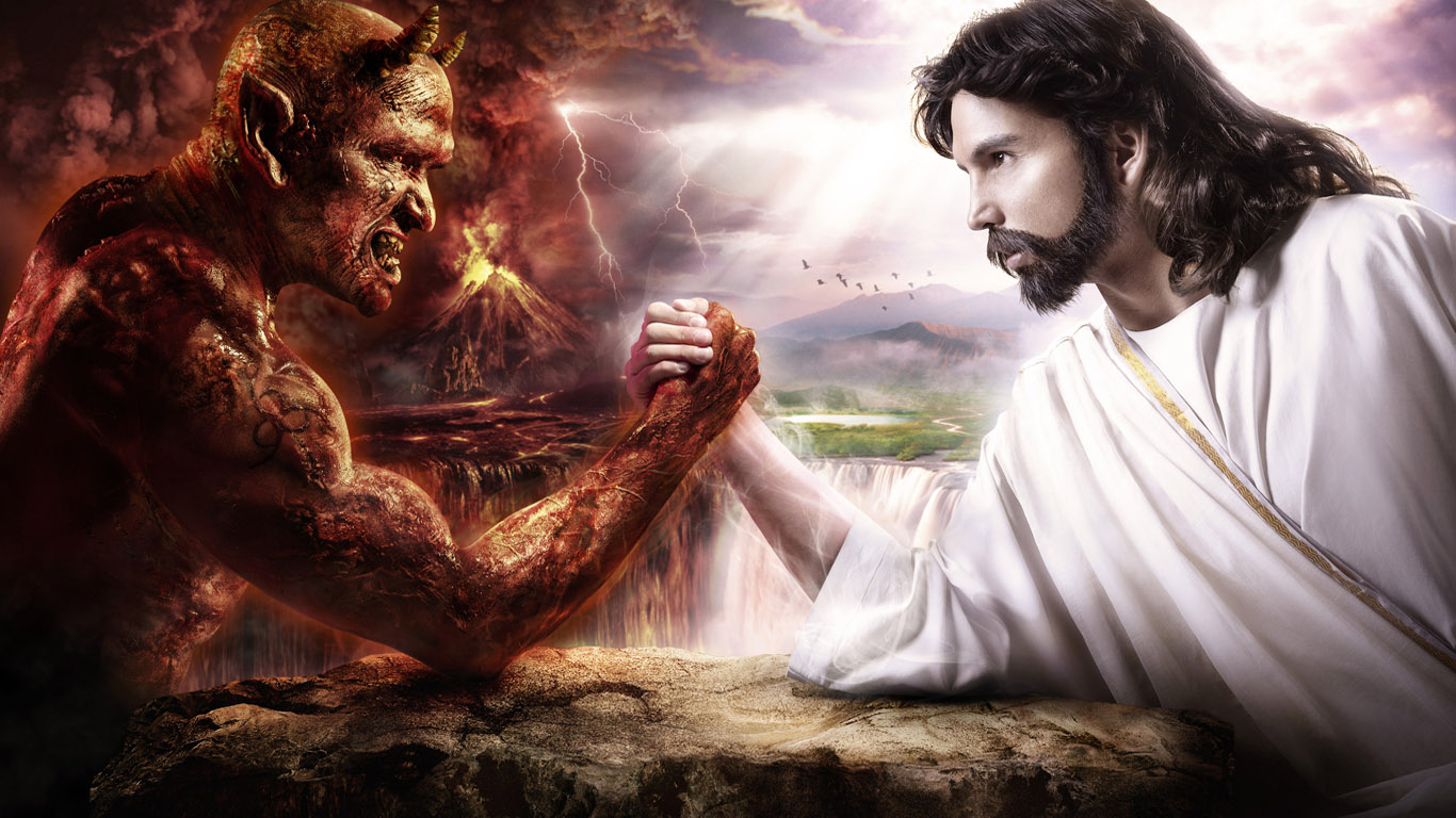 god and evil To finally resolve the battle of 'good vs evil' we had to find the reconciling and redeeming understanding of our divisive human condition.