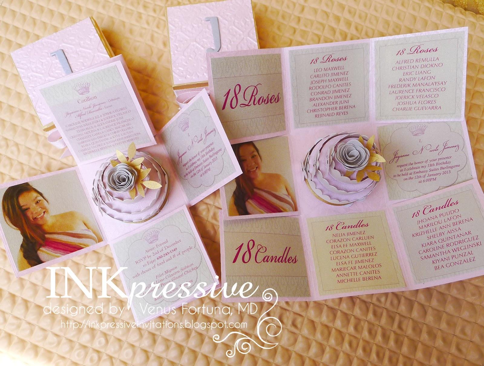 Quinceanera Unique Invitations for nice invitations layout