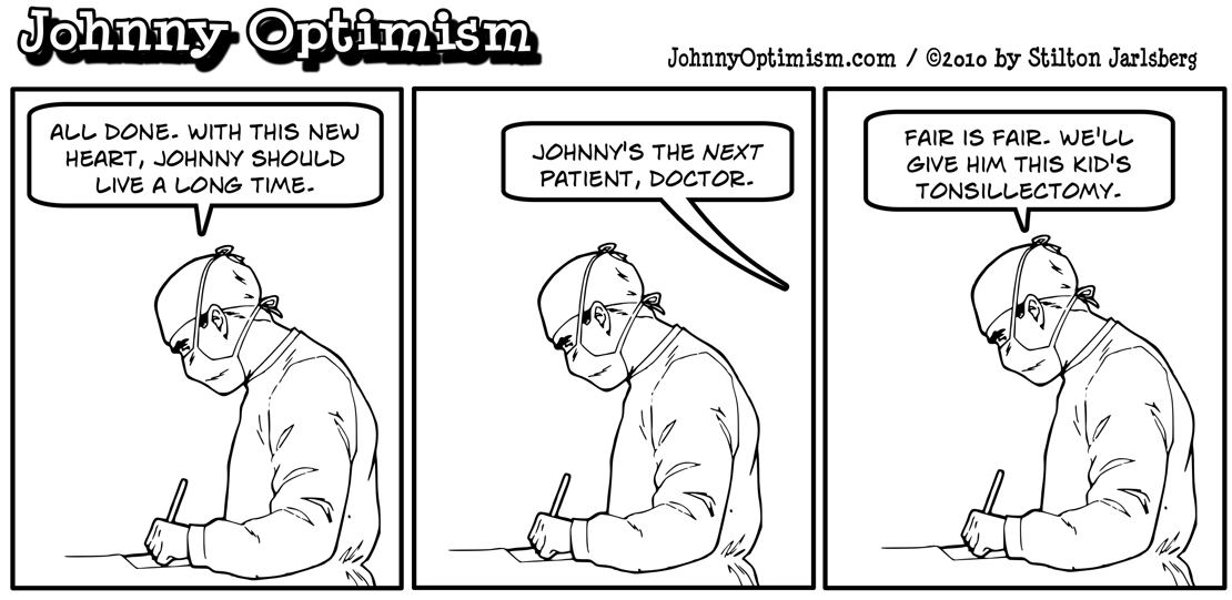 Johnny Optimism, johnnyoptimism, surgeon, heart transplant