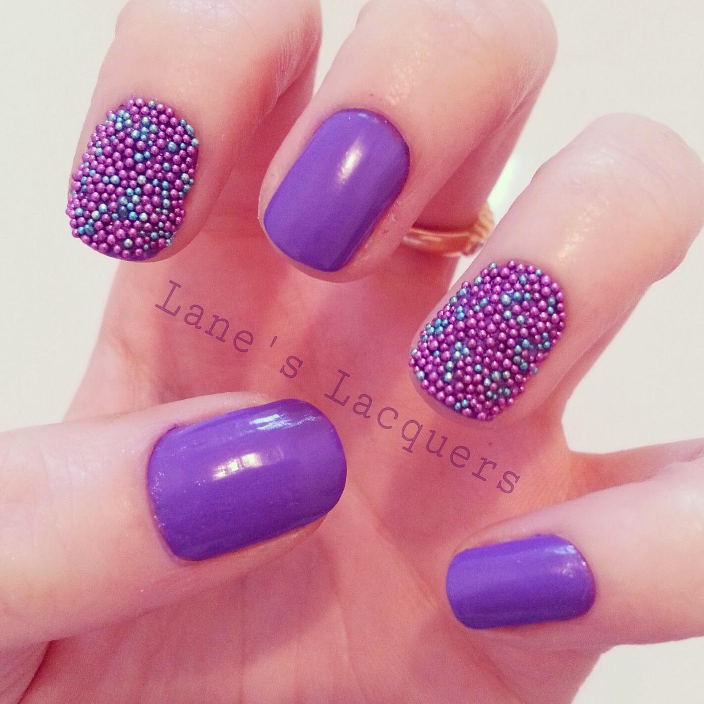 GOT-polish-challenge-purple-caviar-beads-manicure