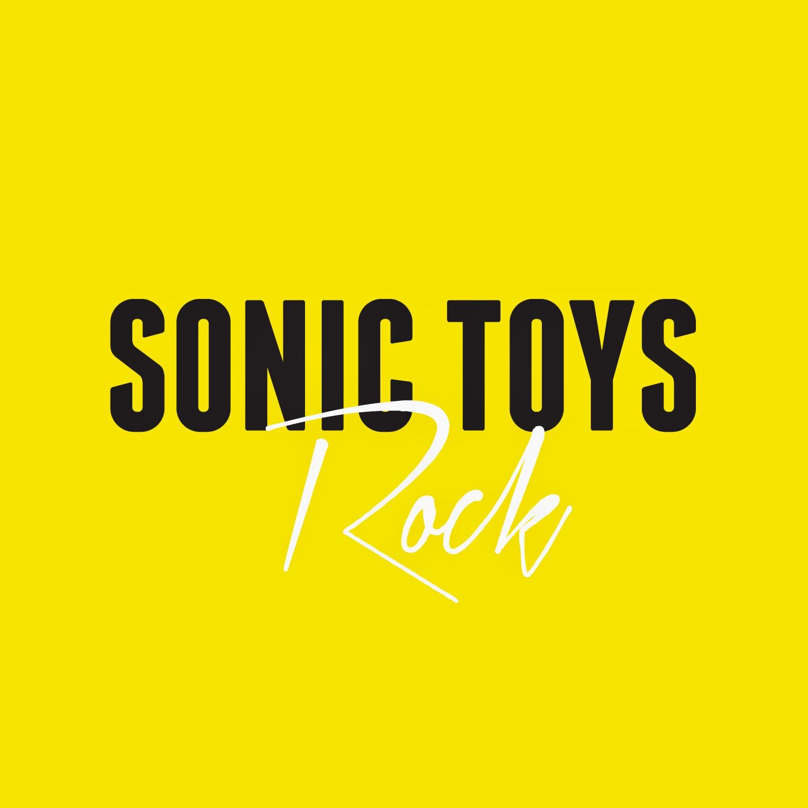 Sonic Toys Rock portada