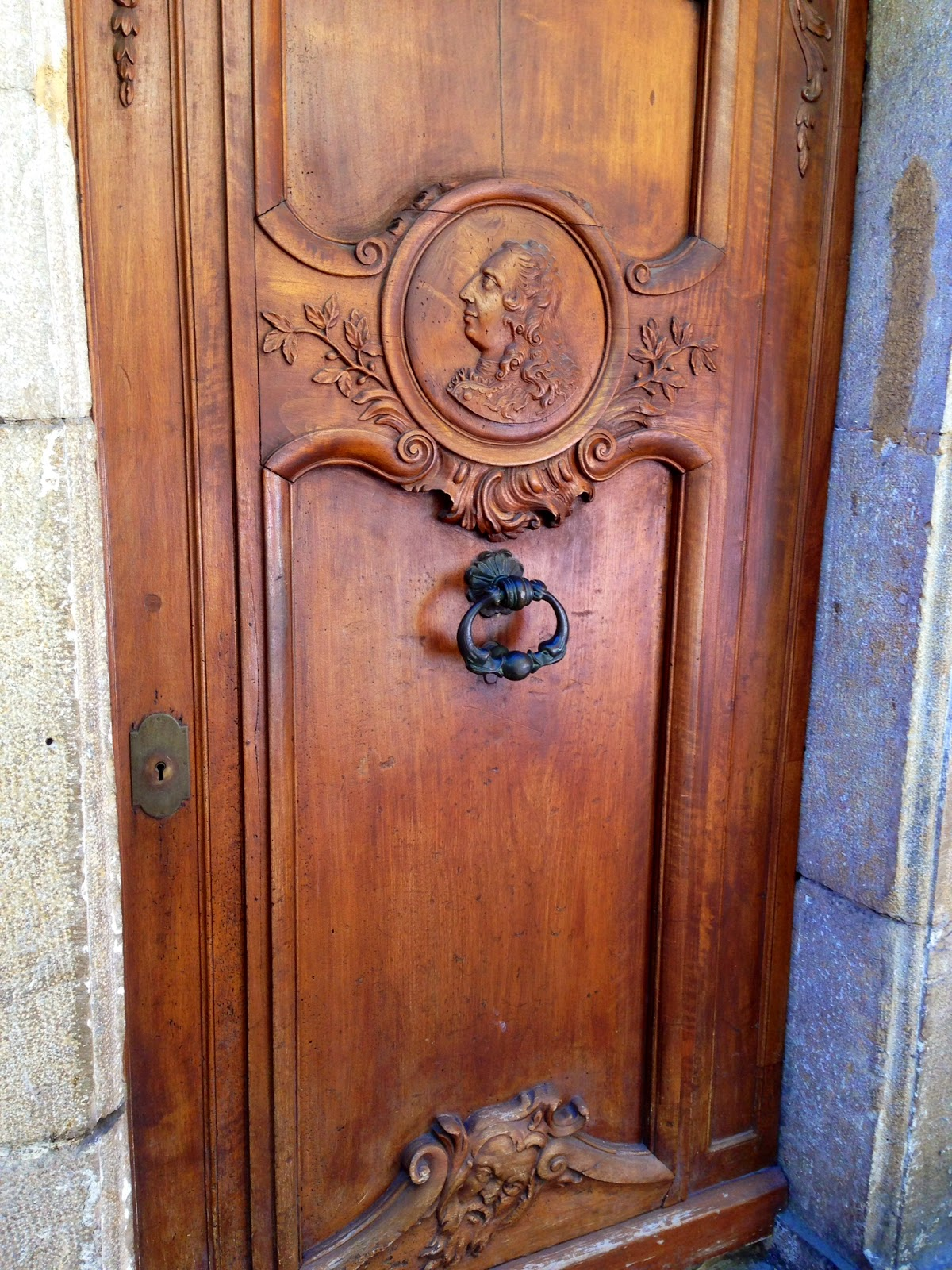 18th century door, Cannes