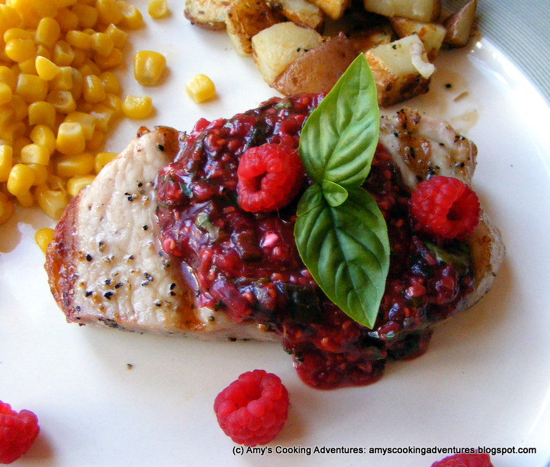 pork chops with cider sauce pork chops with raspberry sauce recipe