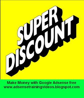 Google Adsense Hindi Training DVD per abhi 800 Rupees ka discount 30 November 2015 tak continue rahega.Uske baad Price increase hoga.