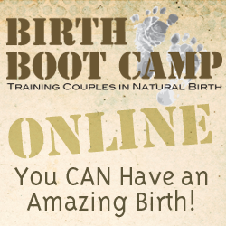 Sign up for an ONLINE Birth Boot Camp CLASS