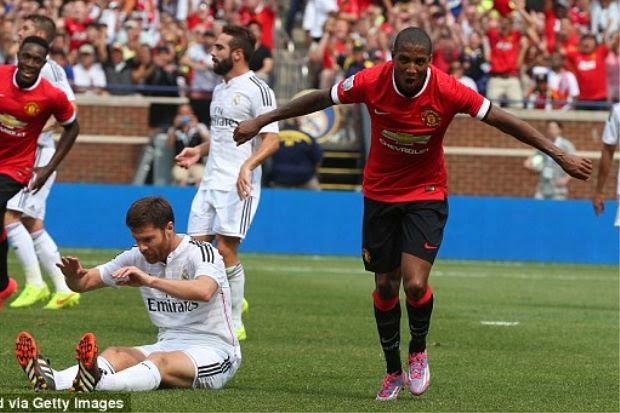 Man United Tewaskan Real Madrid 3 1