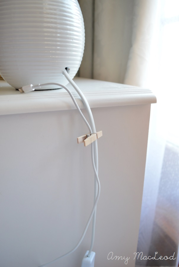 Making your house work for you - practical solution for keeping your phone charger in one place, out of sight