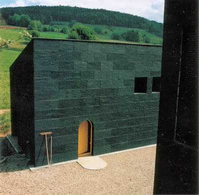 Black Ettore Sottsass House