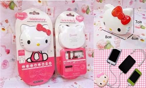 Pin sạc dự phòng đa năng Hello Kitty 8000mAH giá rẻ