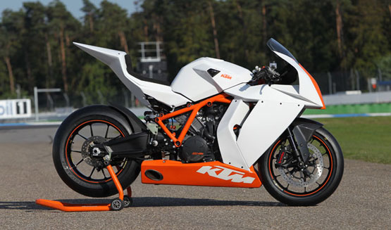2011 KTM 1190 RC8R Track