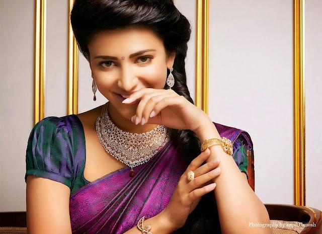 Beautiful And Spicy Actress Shruti Haasan HD Wallpaper