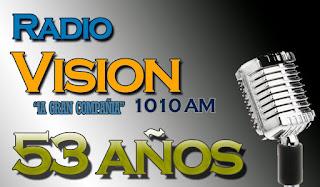 Radio Visión AM: 53 años de noticias y deportes - www.cadenaradialvision.com/
